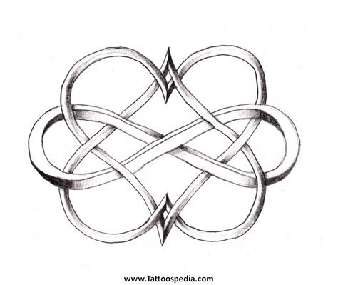 interlocking hearts tattoo designs tattoos