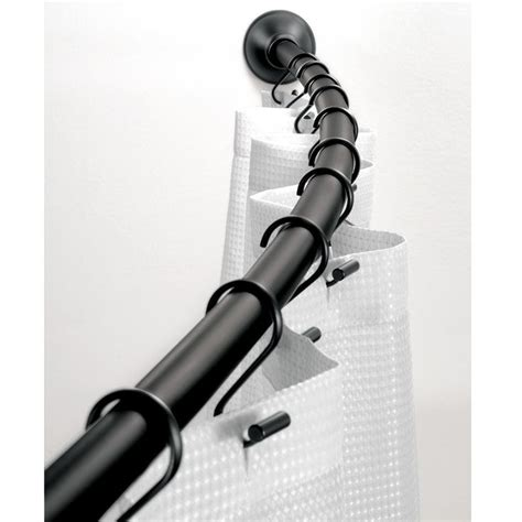 arched shower curtain rod 25 best ideas about curved curtain rod on pinterest