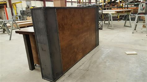 Industrial Style Reception Desk Crafted No Longer Available Contact For Alternate Options By Iron Age Office Custommade