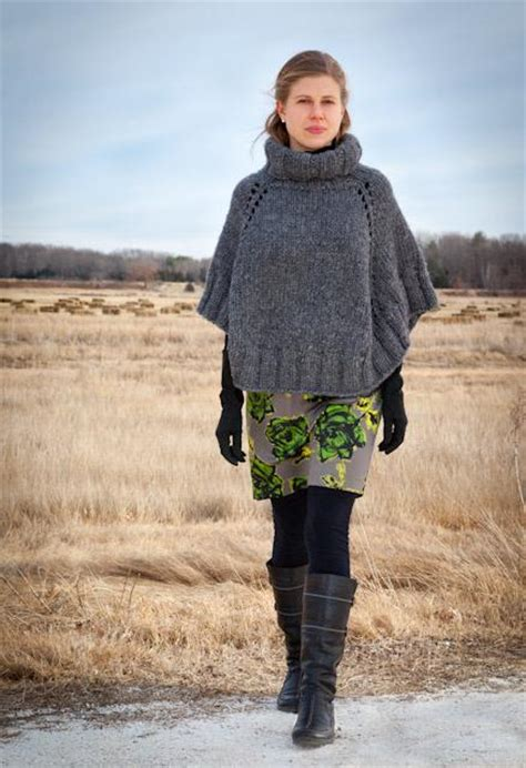 knit cape pattern knit a trendy cape or poncho for winter fashion