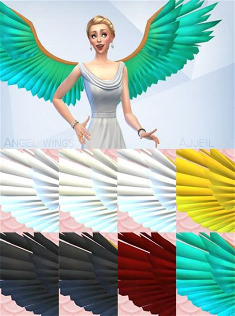 Wings Sims4 Cc | sims 4 cc s the best wings by ajjeil sims pinterest