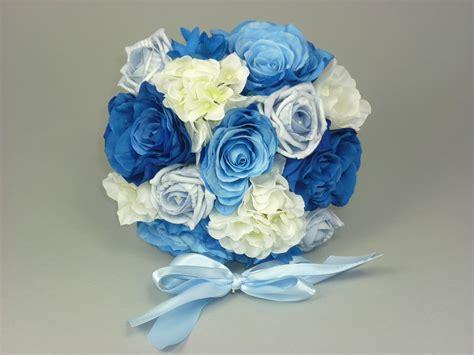 light blue and white roses light blue hydrangea bouquet www pixshark com images