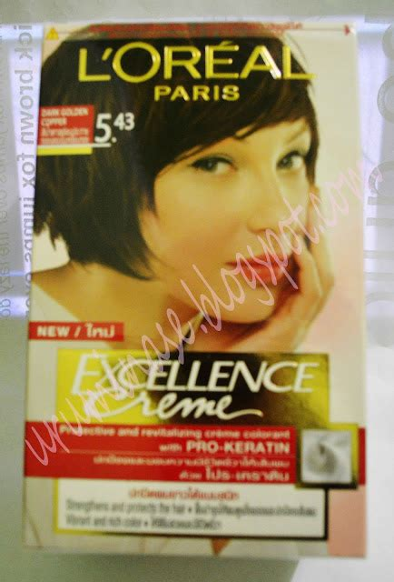 Loreal Toning Rambut Excellence sweetcandy review loreal excellence hair colour