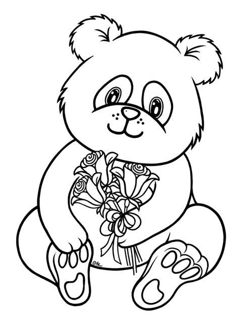Dibujos De Pandas Para Colorear Y Pintar Color In Images