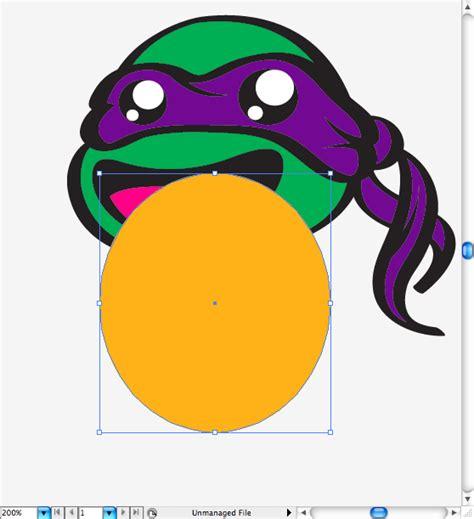 illustrator tutorial ninja create a teenage mutant ninja turtle parody on illustrator
