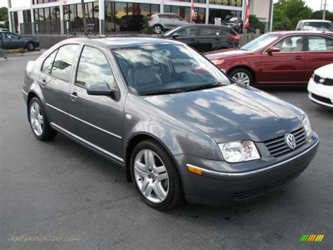 gray volkswagen jetta 2004 volkswagen jetta gls 1 8t sedan in platinum grey