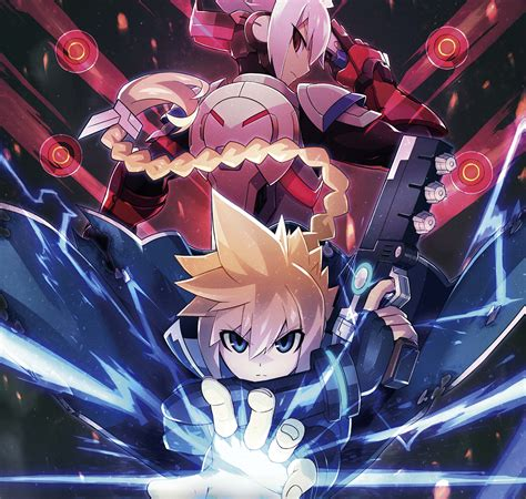 Kaset Nintendo Switch Azure Striker Gunvolt Striker Pack azure striker gunvolt striker pack para el nintendo switch presume los contenidos de su edici 243 n