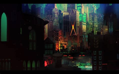 transistor game wallpaper iphone transistor game anime city d wallpaper 1920x1200