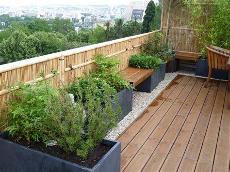 Jardins En Terrasse by Terrasse Jardin Ma Terrasse