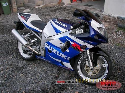 2001 Suzuki Gsxr 750 Suzuki Gsx R 750 2001 Specs And Photos