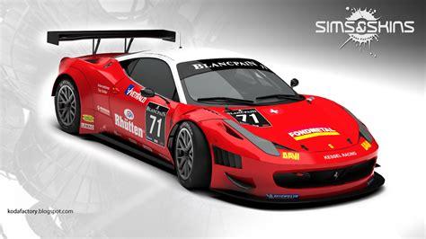 ferrari 458 modified koda factory kessel racing ferrari 458 italia