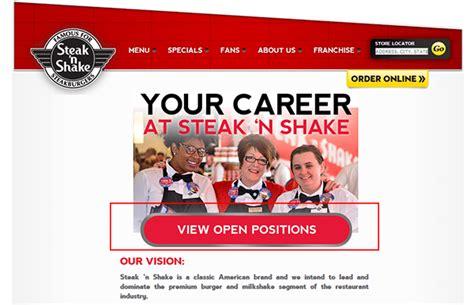 printable job application for steak and shake steak n shake job application adobe pdf apply online