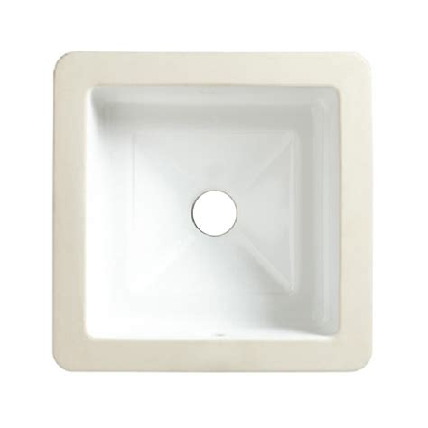 square undermount bathroom sinks shop american standard marquee white undermount square