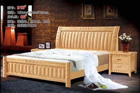 high quality bedroom furniture high quality bed oak bedroom furniture bed factory price
