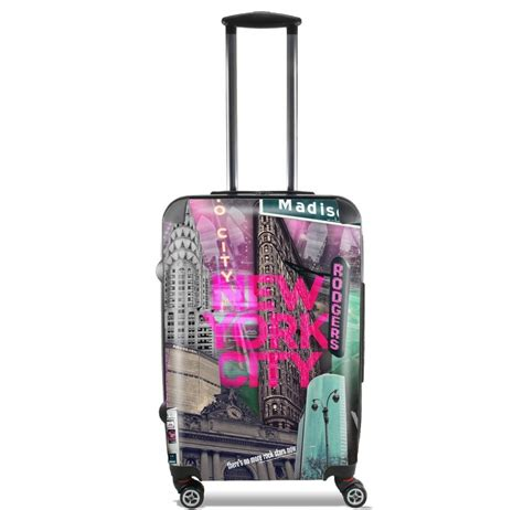 New York City Xl valise trolley bagage xl new york city ii pink