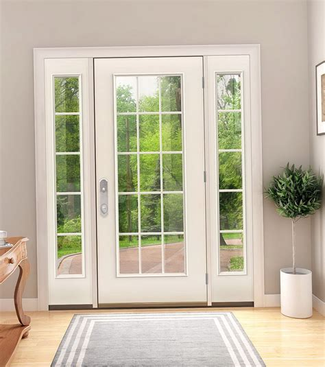 swinging patio door 1 panel clad in swing patio door modlar patio swing doors