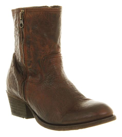womens h boots womens h by hudson zip ankle boot leather boots