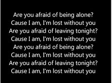 Blink 182 Im lost without you Lyrics - YouTube I M Lost Without You