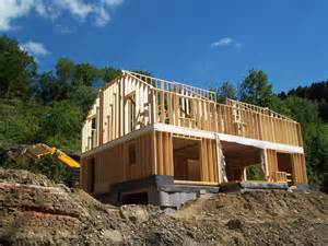 Frank Lloyd Wright Architecture Style maison a ossature bois maison moderne