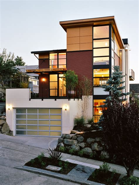 Modern Home Design Ideas Outside | 71 contemporary exterior design photos