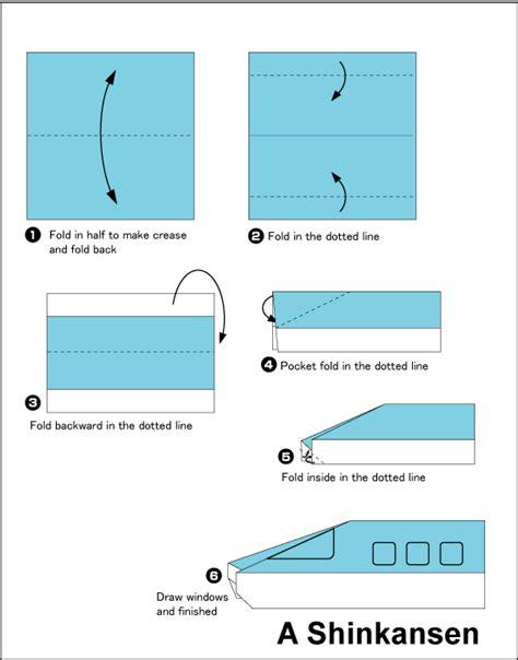 cara membuat origami kereta yuk belajar cara membuat origami dari berbagai bentuk yang