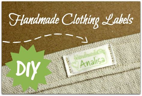 Handmade Labels - handmade clothing labels parental perspective