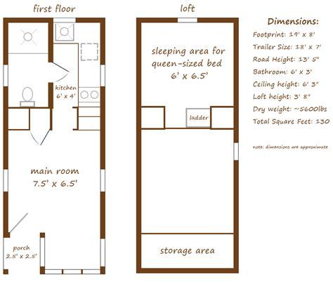 tumbleweed floor plans floorplan by tumbleweed my tiny house on wheels