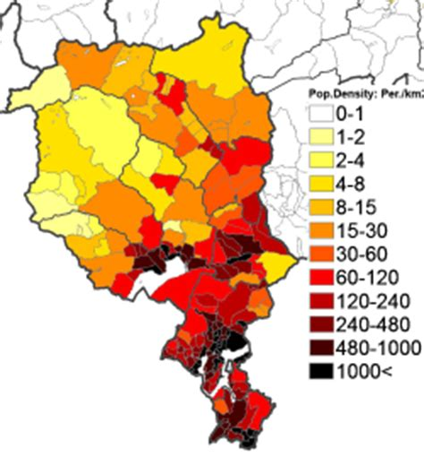 population density map of switzerland 10 population density administrative boundaries map of