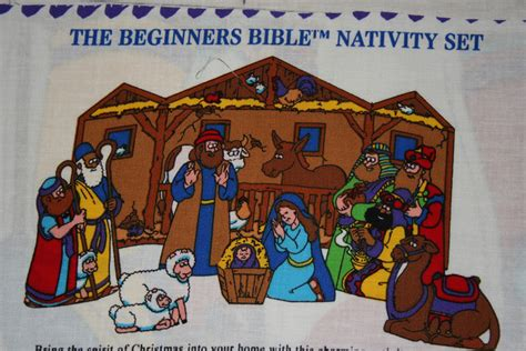 the beginner s bible heroes of the bible books nativity set fabric panel beginners tpgcrafts
