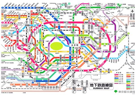 tokyo metro map japan navigating the tokyo metro a guide on i in in wandering