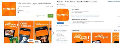 Memes Creator App Meme Generator App The Best In Meme Creation