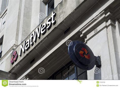 Natwest Bank Letterhead natwest bank logo editorial image cartoondealer