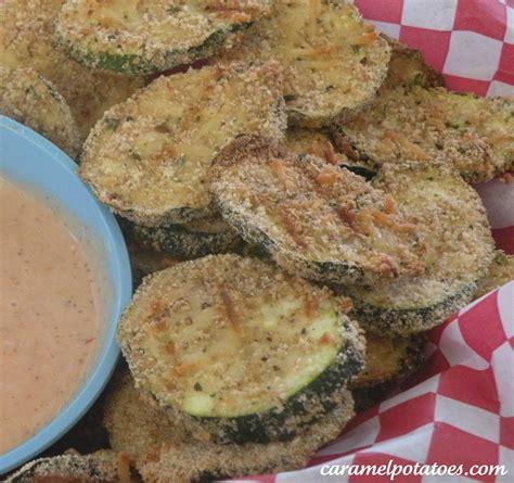 caramel potatoes 187 oven fried zucchini