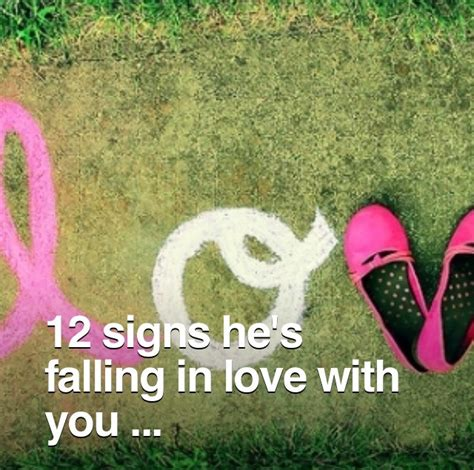 12 Signs Hes Falling In With You by 12 Signs He S Falling In With You Musely