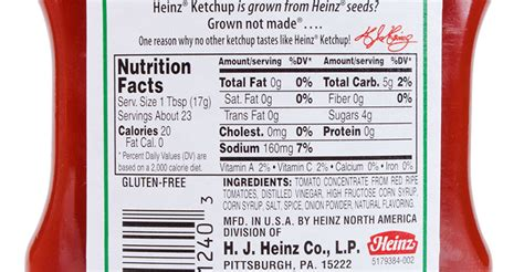 printable heinz ketchup label avoid heinz ketchup like the plague here s 3 research