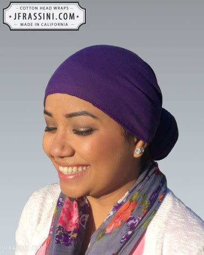 is it fashionable to wear a doo rag cotton purple head wrap bandanas bandanas do rags