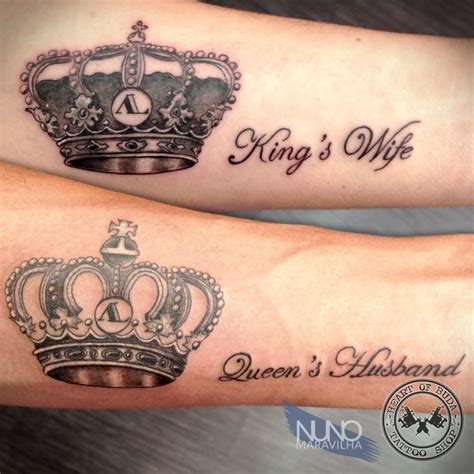 queen tattoo writing crown tattoo tattoos by nuno maravilha pinterest