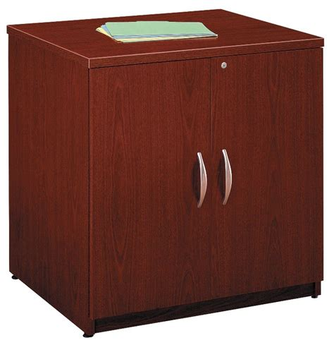 Coleman Storage Cabinet by Series C Mahogany 30 Inch Storage Cabinet From Bush