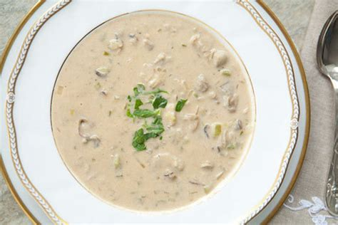 oyster stew soup recipes simmering with chicken potato veggies and