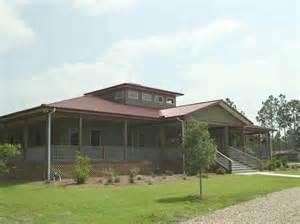 Metal House Plans With Wrap Around Porch Villa Type Metal Building Home W Wrap Around Porch Hq