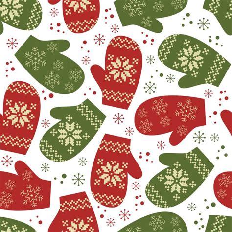 christmas paper pattern vector 背景素材 ラッピングペーパーに レトロなクリスマスのイラスト素材 商用可 eps free style