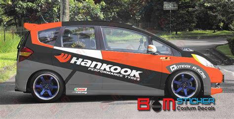 Custom Home Interior sticker honda jazz hankook bali promosindo