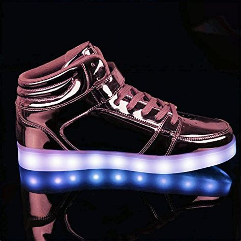 light up shoes for girls size 5 idea frames girls womens high top led sneakers light up