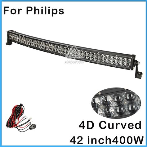 philips led light bar for philips 4d curved led light bar 42 inch 400w combo