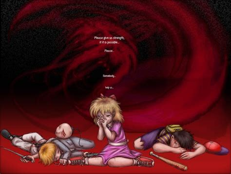 imagenes del juego sad satan i think this picture captures the final battle with giygas