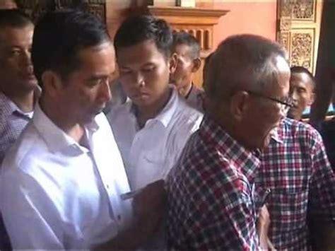 Tukang Mebel Jadi Presiden Kisah Perjalanan Jokowi perjalanan jokowi dihadang simpatisannya doovi