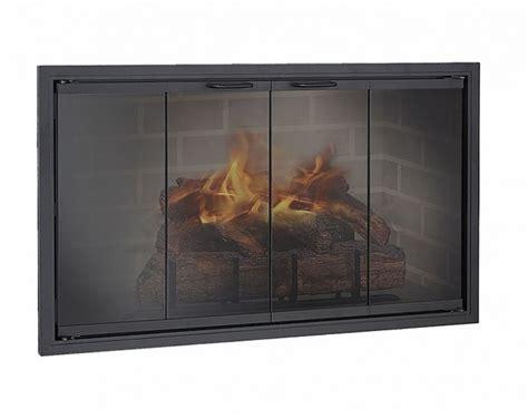 Cheap Fireplace Glass Doors Zero Clearance Glass Doors Northwest Metalcraft