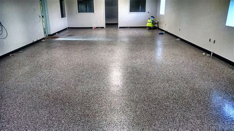 epoxy flooring project in wi lakeside painting