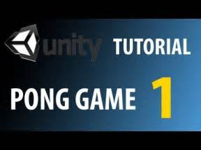 tutorial unity pong 17 best images about game tutorials on pinterest runners