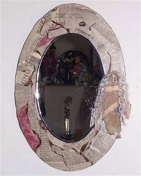 Decoupage Mirror - decoupage mirror and etsy on